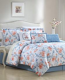 Carmela 7-Pc. Full Comforter Set