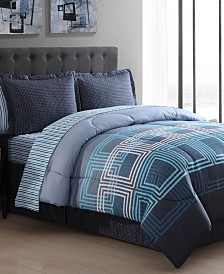 Jefferson Square 8-Pc. King Comforter Set