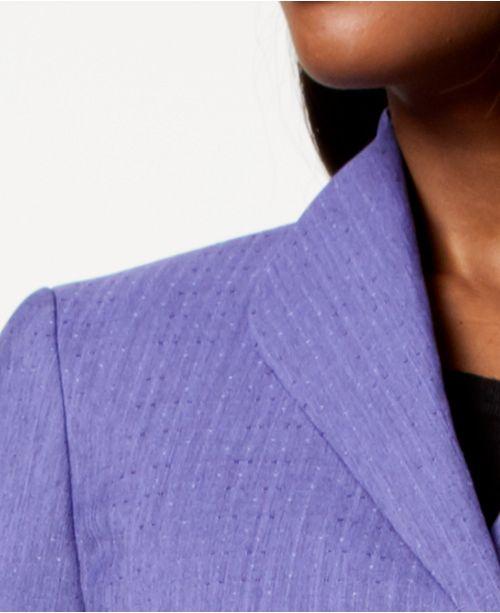 Petite Regular Skirt Three Orchid Black Suit amp; Le Suit Button 4tXvZqw0x