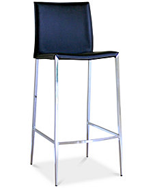 Injila Bar Stool (Set of 2), Quick Ship