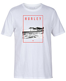 Hurley Men's Island Photo Graphic-Print T-Shirt