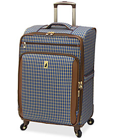 "London Fog Kensington 25"" Softside Spinner Suitcase"