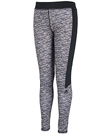 adidas Big Girls Space-Dyed Leggings