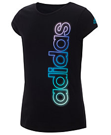 adidas Big Girls Graphic-Print T-Shirt