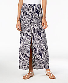 Roxy Juniors' Printed Maxi Skirt
