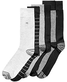 Men's 6-Pk. Striped Dress Socks