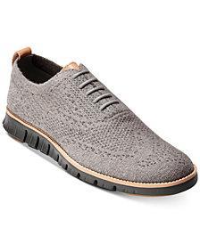 Cole Haan Men's Zerogrand Wool StitchLite Oxfords