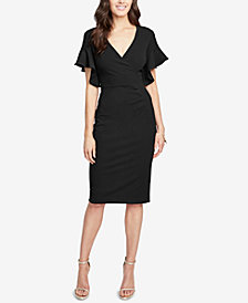 RACHEL Rachel Roy Ruffle-Sleeve Dress