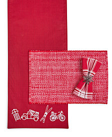 Martha Stewart Holiday Table Linens Collection, Created for Macy's