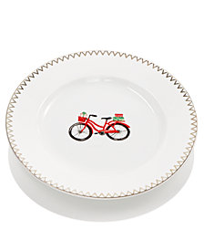 Martha Stewart Collection Bicycle Salad Plate, Created for Macy's