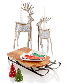 Martha Stewart Holiday Figural & Serveware Collection, Created for Macy's