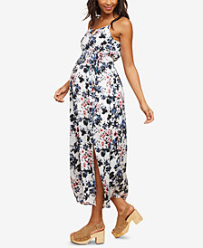 Motherhood Maternity Printed Midi Dress