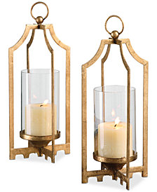 Uttermost Lucy Gold Candleholders, Set of 2