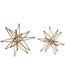 Constanza Gold Atom Accessories, Set of 2