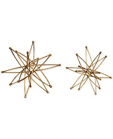 Uttermost Constanza Gold Atom Accessories, Set of 2