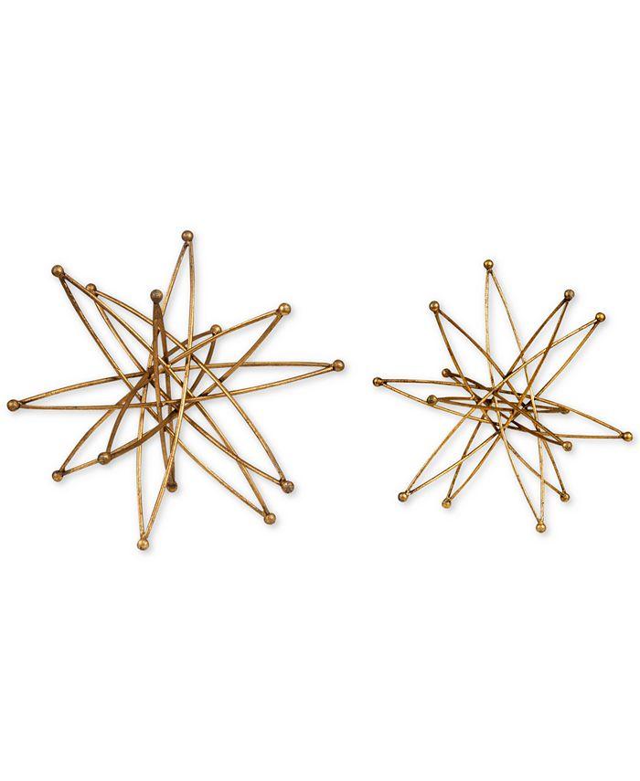 Uttermost - Constanza Gold Atom Accessories, Set of 2