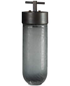 Uttermost Virika Etched Gray Glass Jar