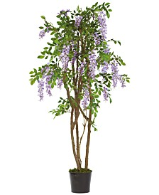 Nearly Natural 5' Wisteria Artificial Tree
