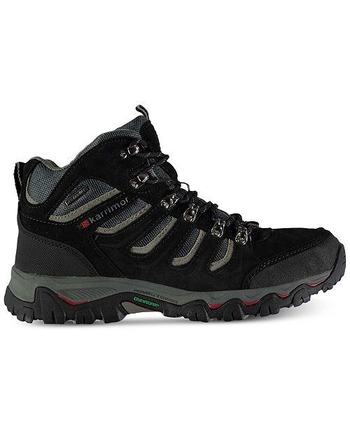 Karrimor Men's Mount Mid Waterproof Hiking Boots from Eastern Mountain Sports LkCrar