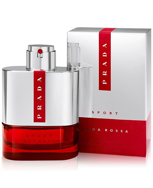 Prada Men s Luna Rossa Sport Eau de Toilette Spray, 3.4 oz - Beauty ... 81185445d9