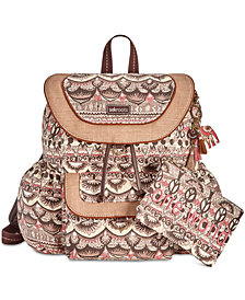 Sakroots Flap Backpack With Pouch