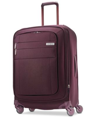 """Agilis 25"""" Softside Spinner Suitcase, Created for Macy's"""