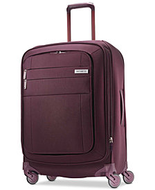 "Samsonite Agilis 25"" Softside Spinner Suitcase, Created for Macy's"