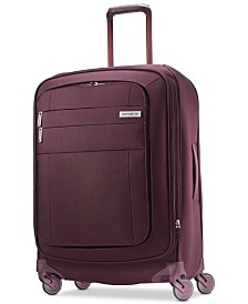 "CLOSEOUT! Samsonite Agilis 25"" Softside Spinner Suitcase, Created for Macy's"