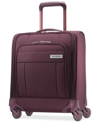 Agilis Under-Seat Carry-On Suitcase with USB Charging Port, Created for Macy's