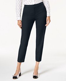 Charter Club Slim-Fit Ankle Pants, Created for Macy's