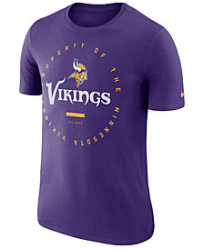 Nike Men's Minnesota Vikings Property Of T-Shirt 2018