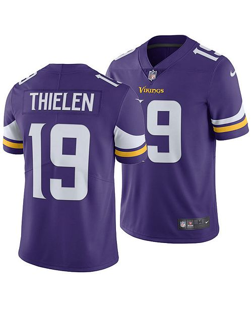 quality design 1528c 63aed Men's Adam Thielen Minnesota Vikings Vapor Untouchable Limited Jersey
