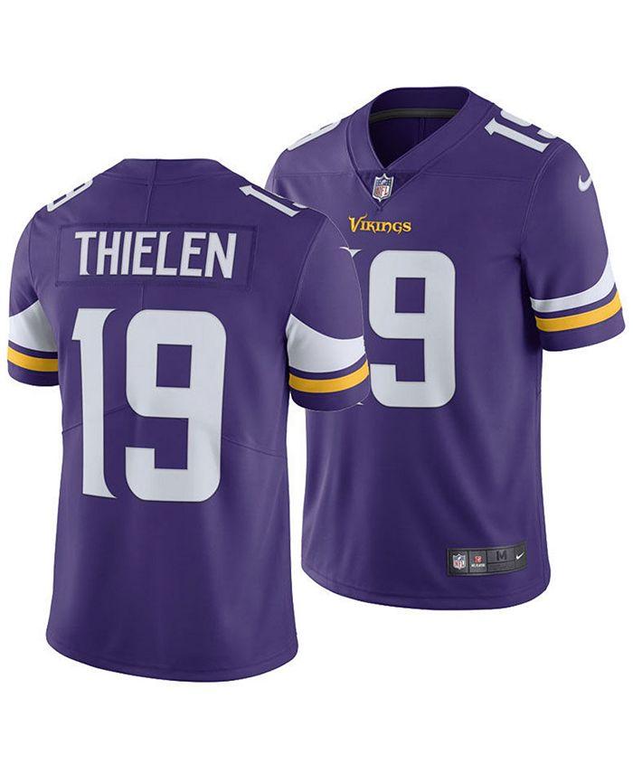 Men's Adam Thielen Minnesota Vikings Vapor Untouchable Limited Jersey