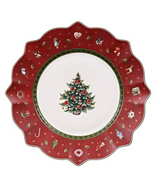 Toy's Delight Red Salad Plate