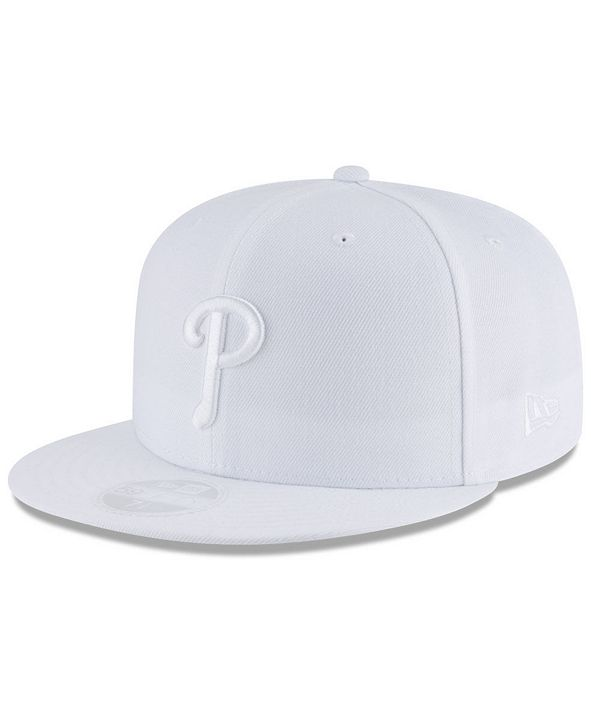 New Era Philadelphia Phillies White Out 59FIFTY FITTED Cap