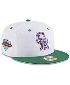 New Era Colorado Rockies Retro Diamond 59FIFTY Fitted Cap