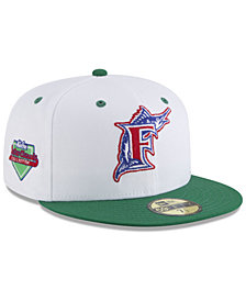 New Era Florida Marlins Retro Diamond 59FIFTY FITTED Cap