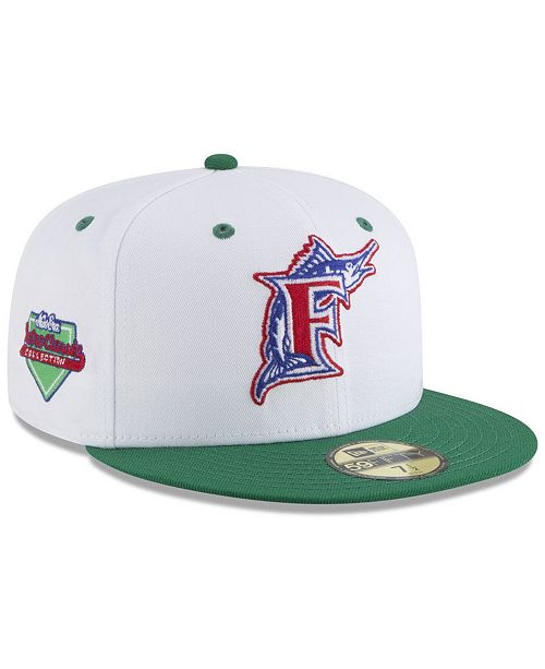 online store 0d428 715c7 New Era. Florida Marlins Retro Diamond 59FIFTY FITTED Cap. Be the first to  Write a Review.  37.99
