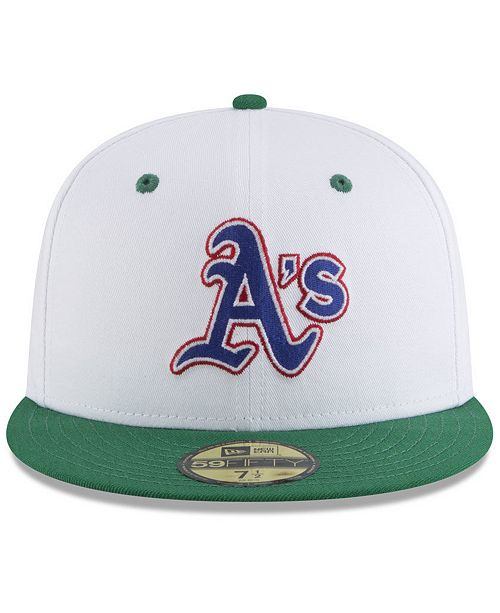 sports shoes 902e6 03182 ... cheap oakland athletics retro diamond 59fifty fitted cap. be the first  to write a review