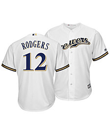 Majestic Men's Aaron Rodgers Milwaukee Brewers NFLPA Replica Cool Base Jersey
