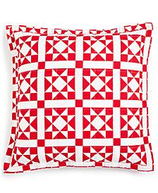 "Calvin Klein Abigail 22"" X 22"" Decorative Pillow, New & First at Macy's"
