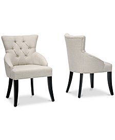 Elemer Dining Chair (Set of 2), Quick Ship