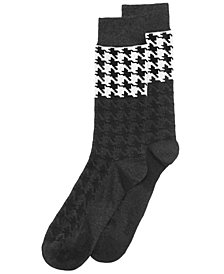 Bar III Men's Printed Socks, Created for Macy's