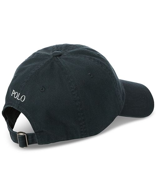 7630d0cdd23759 Polo Ralph Lauren Men's Cotton Chino Baseball Cap & Reviews - Hats ...