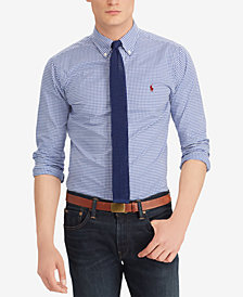 Polo Ralph Lauren Men's Slim Fit Cotton Gingham Shirt