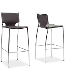 Crina Bar Stool (Set of 2), Quick Ship