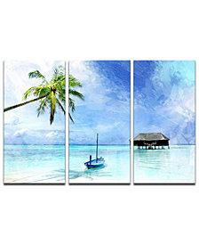 Ready2HangArt 'Tropical' 3-Pc. Canvas Art Print Set