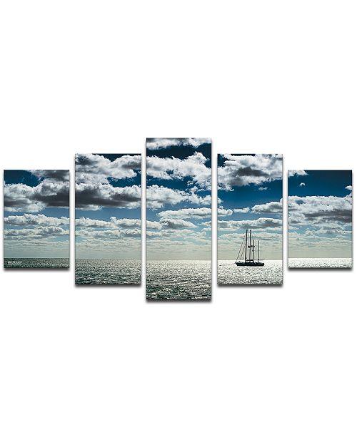 Ready2HangArt 'Ship' 5-Pc. Canvas Art Print Set