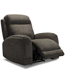 Winterton Fabric Power Recliner With Power Headrest, Lumbar And USB Power Outlet