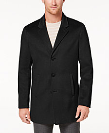 Calvin Klein Men's Slim-Fit Overcoat